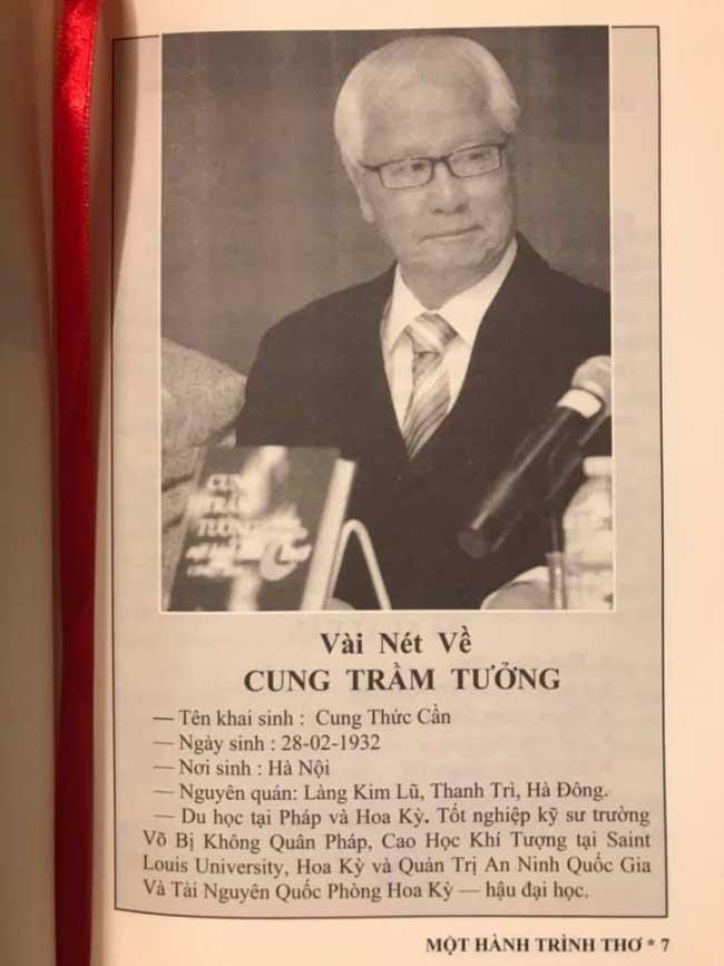 """BÓNG HÌNH """"CON TẮC KÈ"""" TRONG THƠ CUNG TRẦM TƯỞNG"""