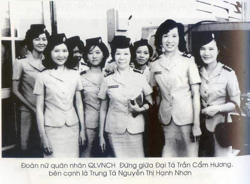 Phân Đoàn Nữ Quân Nhân Không Quân QLVNCH - Nguyễn Thị Hạnh Nhơn